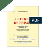Lettres de Prison t3