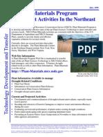 Plant Materials Program