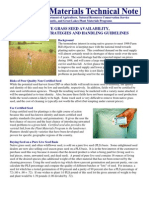 Native Grass Seed Availability, Purchasing Strategies and Handling Guidelines