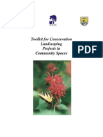 Toolkit for Conservation Landscaping Projects in Community Spaces