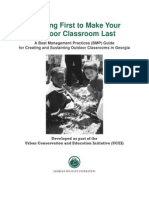 Planning First to Make Your Outdoor Classroom Last