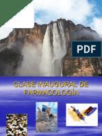 CLASE INAUGURAL DE FARMACOLOGÍA