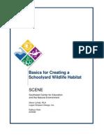 Basics for Creating a Schoolyard Wildlife Habitat