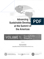 Advancing Sustainable Development at the Summit of the Americas