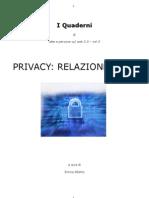 Privacy Relazione 2007
