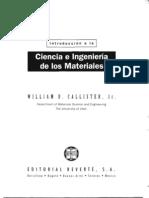 Callister - Ciencia e Ingeniería de los materiales