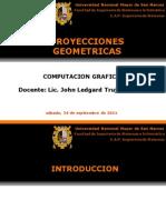 Proyecciones Geometricas Computacion Grafica 2011II