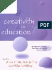 0826448631 Creativity in Education