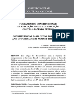 Fundamentos constitucionais da execução fiscal e da execução contra a fazenda pública = Constitutional basis of tax foreclosure and of foreclosure against the treasury
