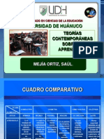 TEORIAS CONTEM PORÁNEAS DEL APRENDIZAJE