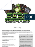 Boss Monster Instructions v6