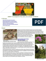 Fall 2012 HabiChat ~ Maryland's Wild Acres Newsletter