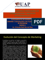 Introduccion a Los Fundamentos Del Marketing