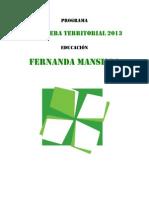 Programa CT Fernanda Mansilla NAU