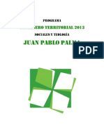 Programa CT Juan P. Palma NAU