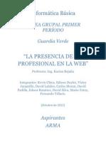 La Presencia de Un Profesional en La Web - Guardia Verde