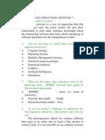 Data Structure Aptitude