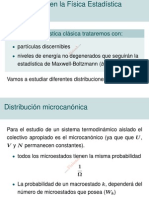 Distribuciones en la Física