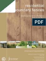 Fences Resindential