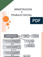 Diapos de Administracion y Trabajo Social - Delia