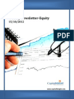 Weekly Equity Report 15-10-2012