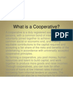 2.What is a Cooperative