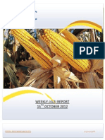 WEEKLY AGRI REPORT BY EPIC RESEARCH- 15 OCTOBER 2012