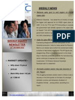 WEEKLY EQUITY REPORT BY EPIC RESEARCH- 15 OCTOBER 2012