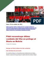 Noticias Uruguayas Lunes 15 de Octubre Del 2012