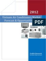 Vietnam Air Conditioners Market Forecast and Opportunities 2017