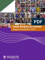 Comité Européen du Scoutisme 2011-2012