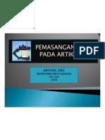 Pt 241 Sap Pemasangan Model Pada Artikulator