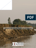 Effect of Riverbank Erosion on Livelihood