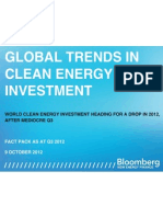 BNEF Global Trends in Clean Energy Investment q3 2012 Fact Pack Kopie