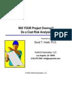 107 Cost Risk Presentation