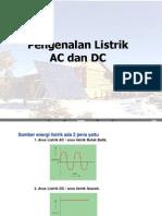 Ilustrasi Dasar Listrik AC Dan DC