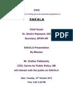 Sakala Consultation by CIVIC