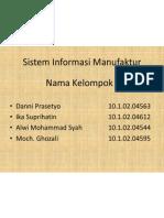 Sistem Informasi Manufaktur (SIMa)