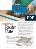 85 - Bonus Article - Installing a Router Plate