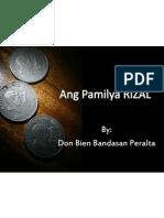 Ang Pamilya RIZAL Bien