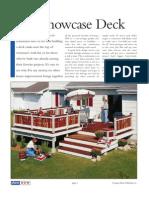 A Showcase Deck