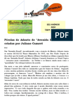 Pérolas de Adauto de Avenida Brasil foram criadas por Juliano Cazarré