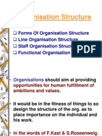 Types Organisation Structure