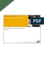 SAP BW 7 3 Featues Benefits