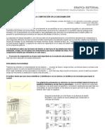 La composición en la diagramación.