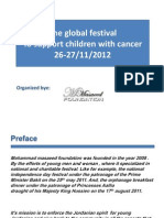 The Global Festival to Support Children With Cancer Nov 2012 Jordan_final