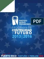 Programa de gobierno PNP 2012