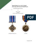 WWII Air Medal & DFC Criteria