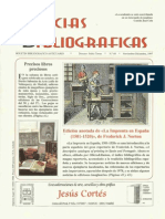 """Review of the work """"Michael Servetus Editor of Materia Medica"""" in  Bibliographical News"""