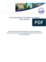 Review of Educational Programmes of Electrical Engineering Faculty 14-09-2012